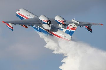 beriev be200 velivolo antincendio russo