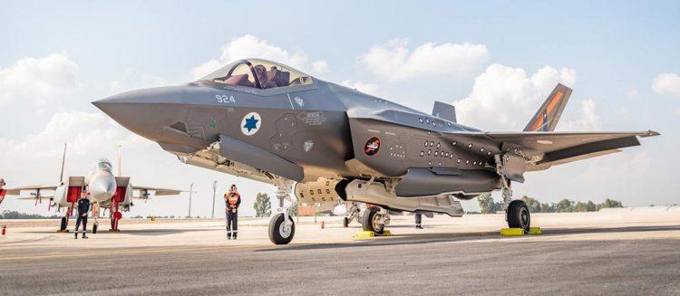 israeli air force F-35I adir test jet