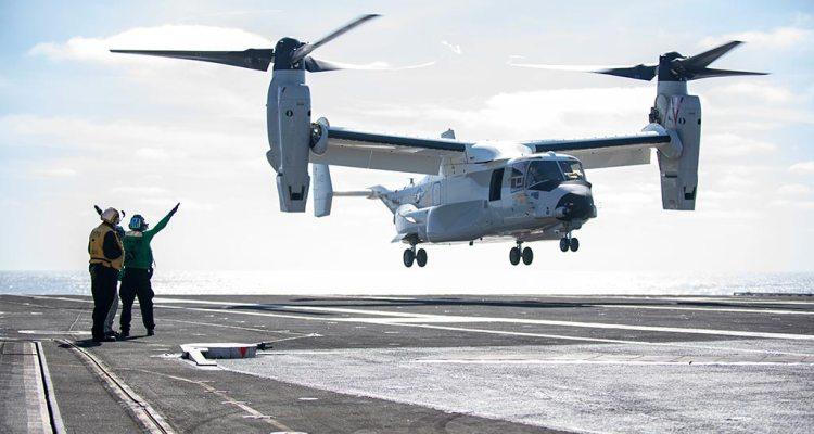 us-navy-cmv-22b-osprey-primo-appontaggio-su-portaerei