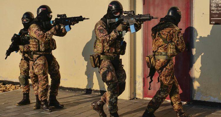 66 reggimento trieste urban operations