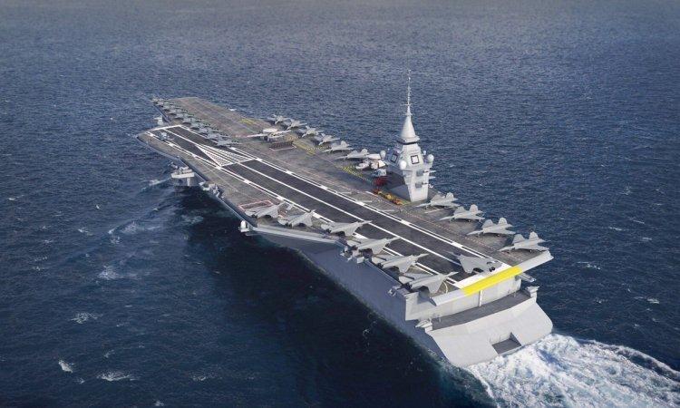 Nuova portaerei nucleare francese