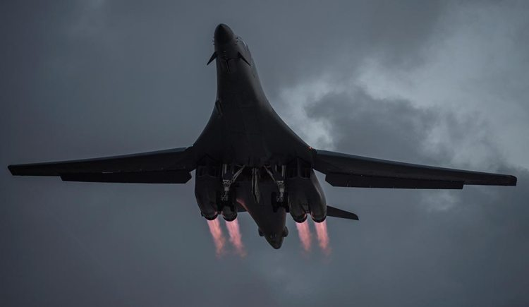 US Air Force B-1B Lancer
