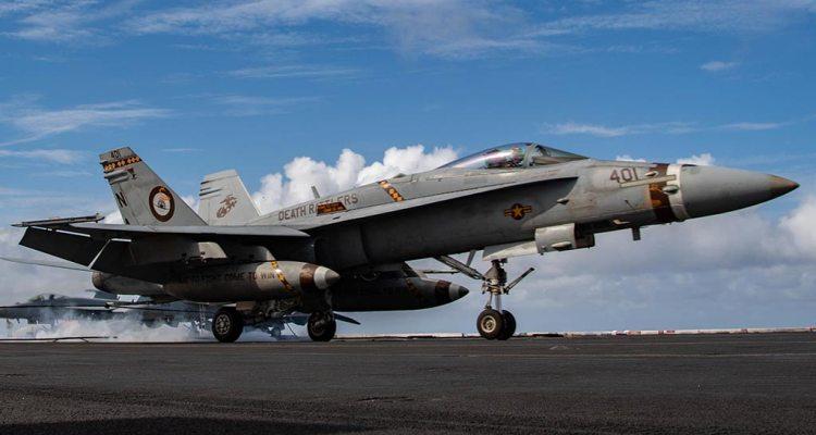 Marines VMFA323 F-18 Hornet