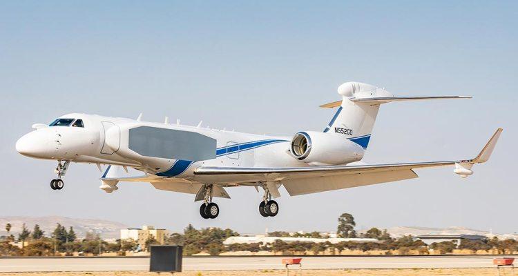 Gulfstream G550 Oron Israele