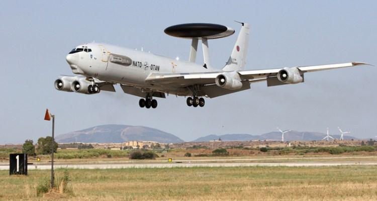 E-3 Sentry AWACS NATO