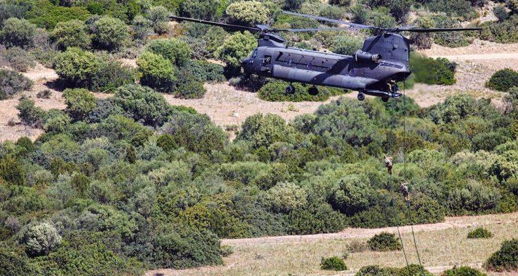 CH-47F esercitazione CAEX 1-2021