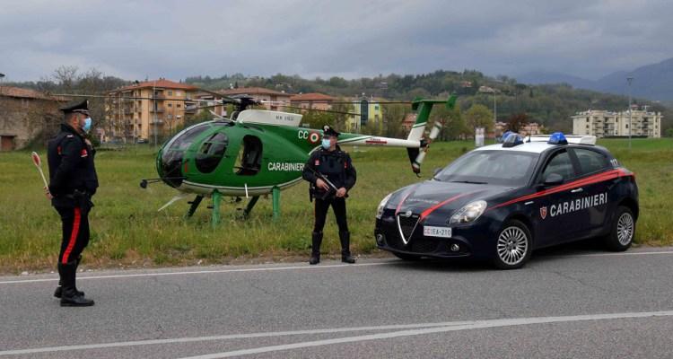NH-500 16° Nucleo Elicotteri Carabinieri Rieti