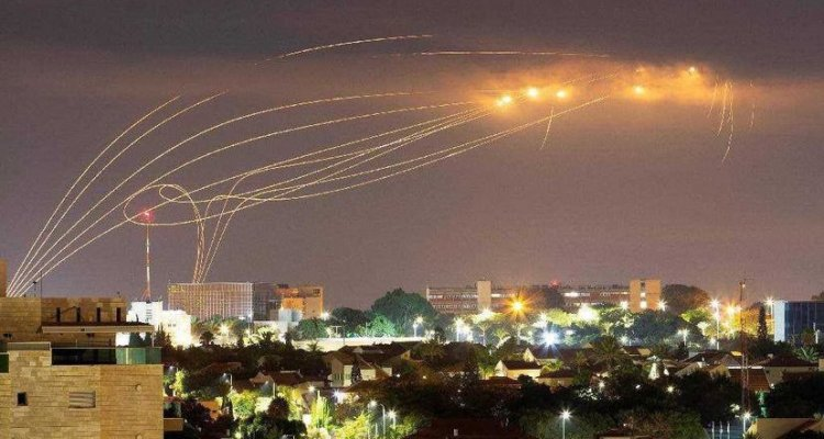Iron Dome Air Defense System Israele