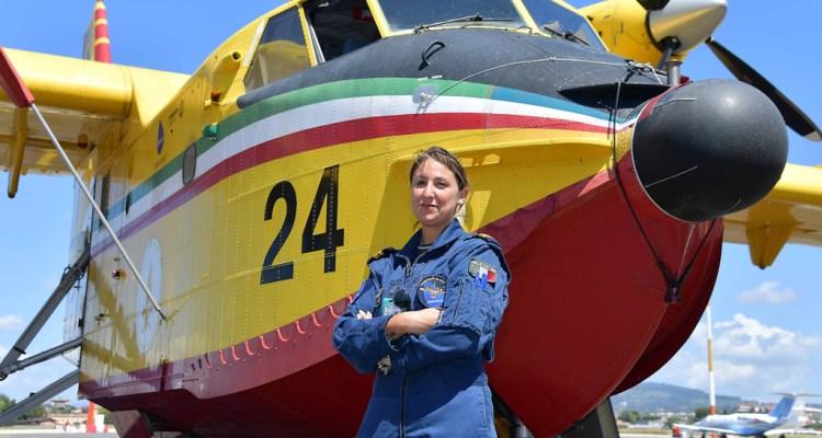 Canadair CL-415 Giulia Grigoletti