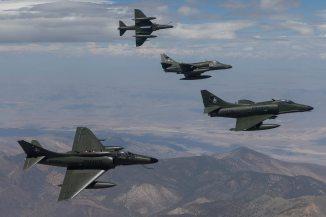 A-4 Skyhawk Draken International