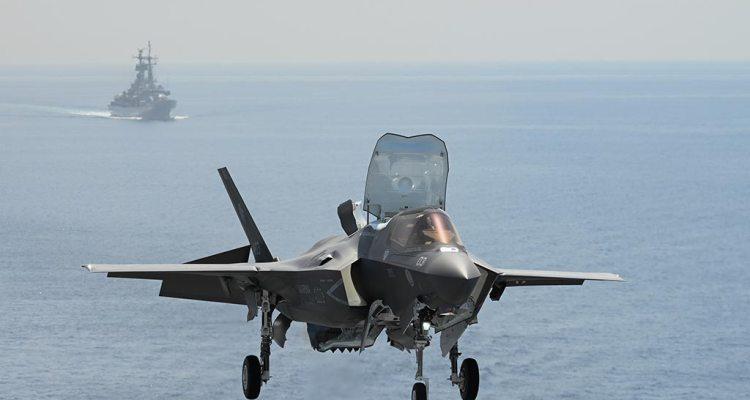 F-35B Marina Militare su Nave Cavour