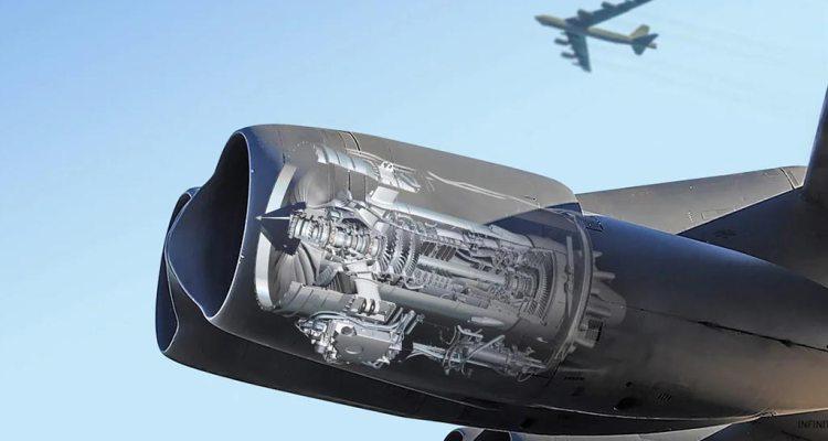 B-52 motori rolls-royce F-130