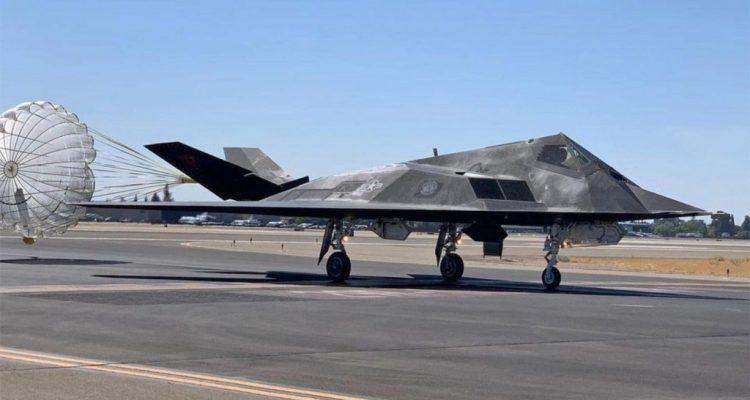 F-117 Nighthawk settembre 2021