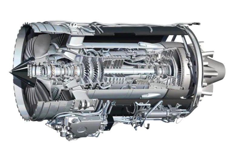 motore rolls-royce F-130