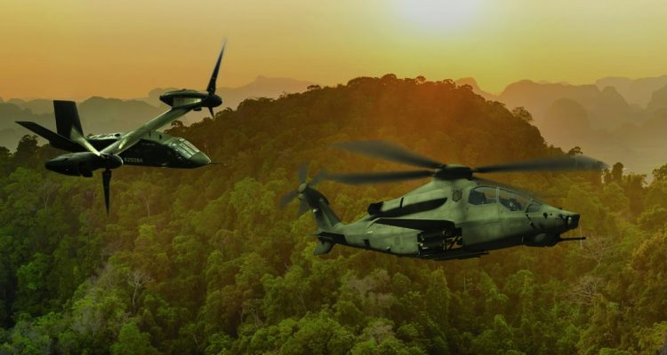 Bell 360 Invictus e V-280 Valor