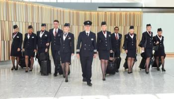 Royal wedding mania: British Airways flight BA93 to Toronto