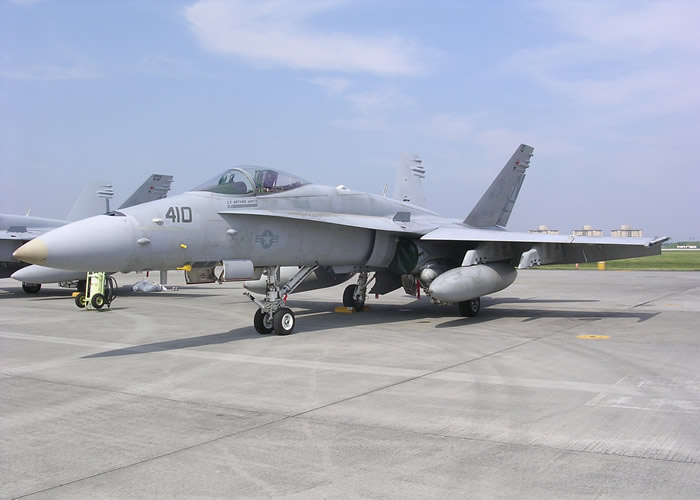 F-18 Hornet at Yokota Base