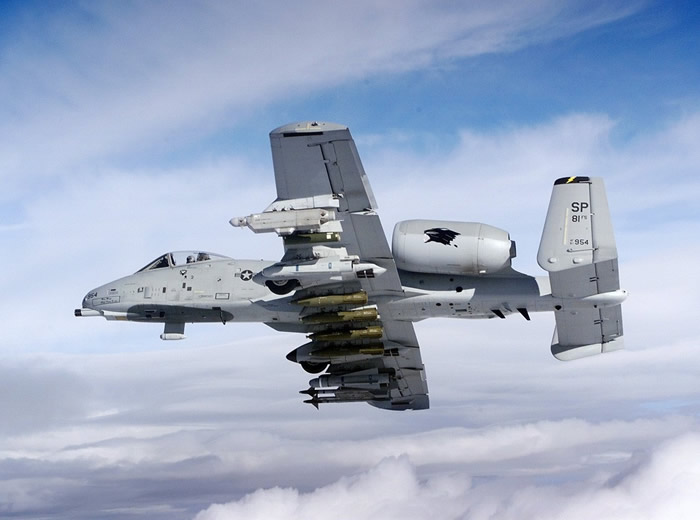 US Air Force A-10 Warthog