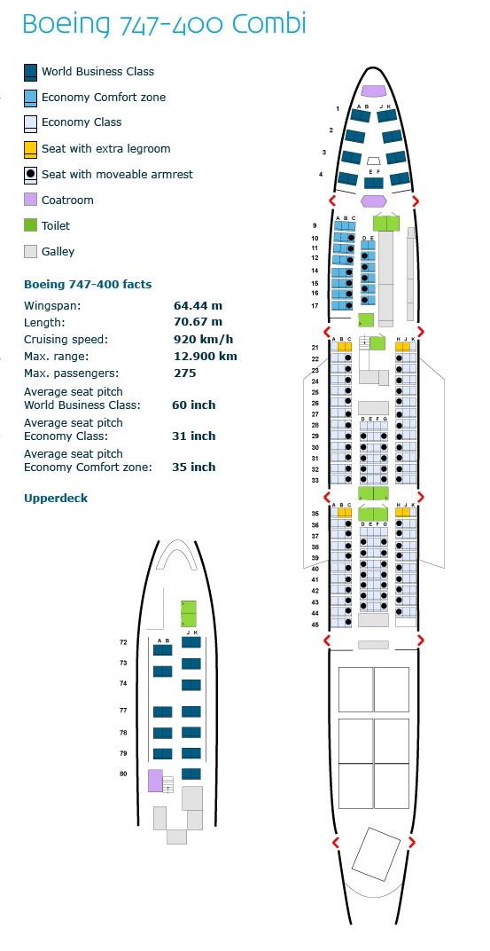 Boeing 747 400 Seating Chart British Airways Www