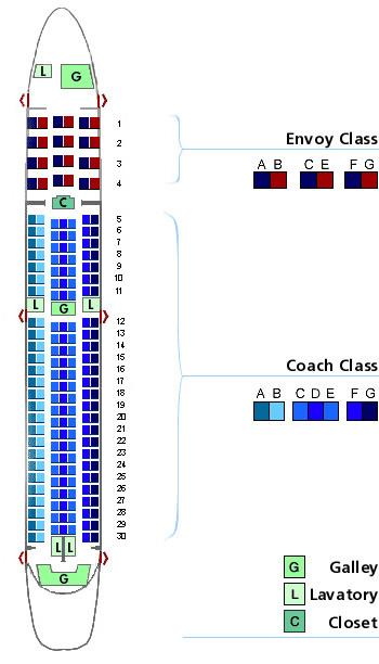 Boeing Passenger Seating Chart Brokeasshomecom - Us airways seating map