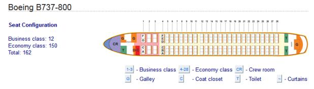 Boeing 737 800 Seating Delta Brokeasshome Com