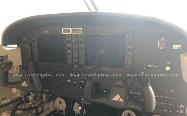 Nepal Army Piper Archer Garmin G1000 Cockpit - Aviation Nepal