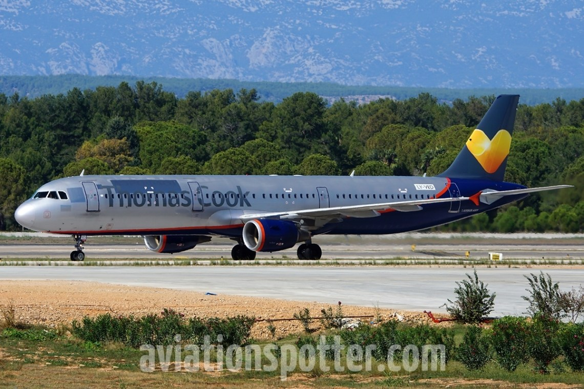 Thomas Cook Airlines (Avion Express)   LY-VED