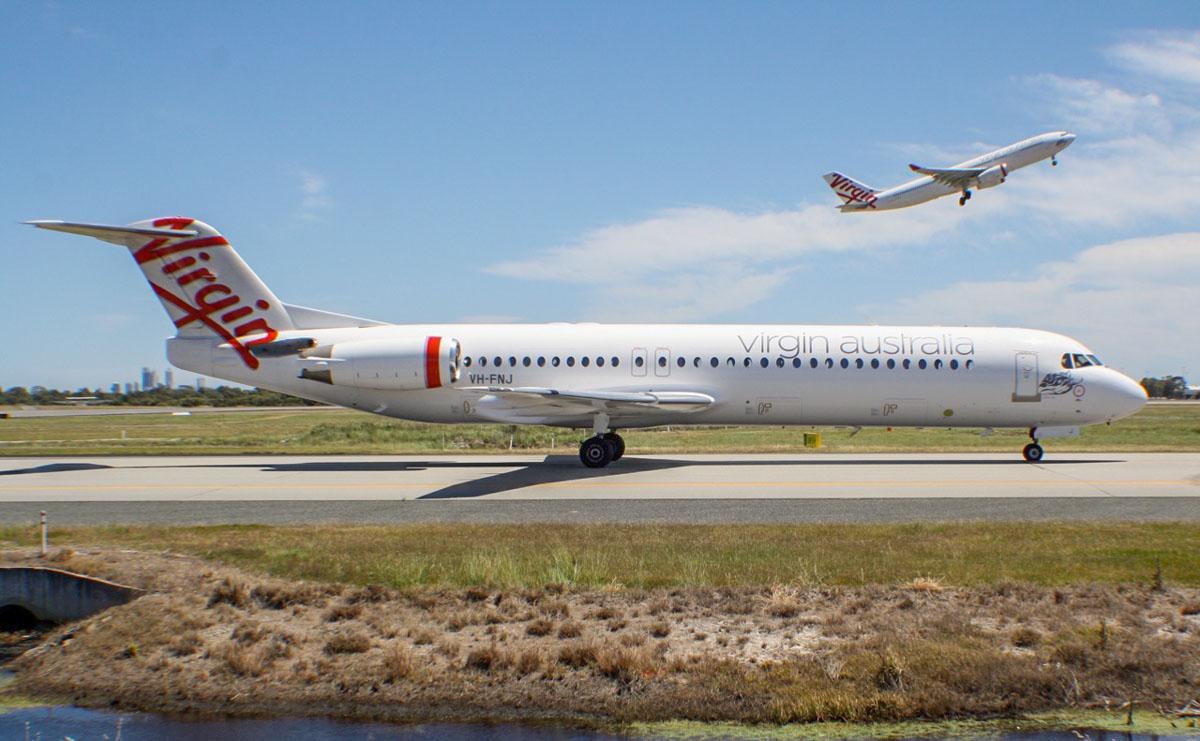 Resultado de imagen para Fokker 100