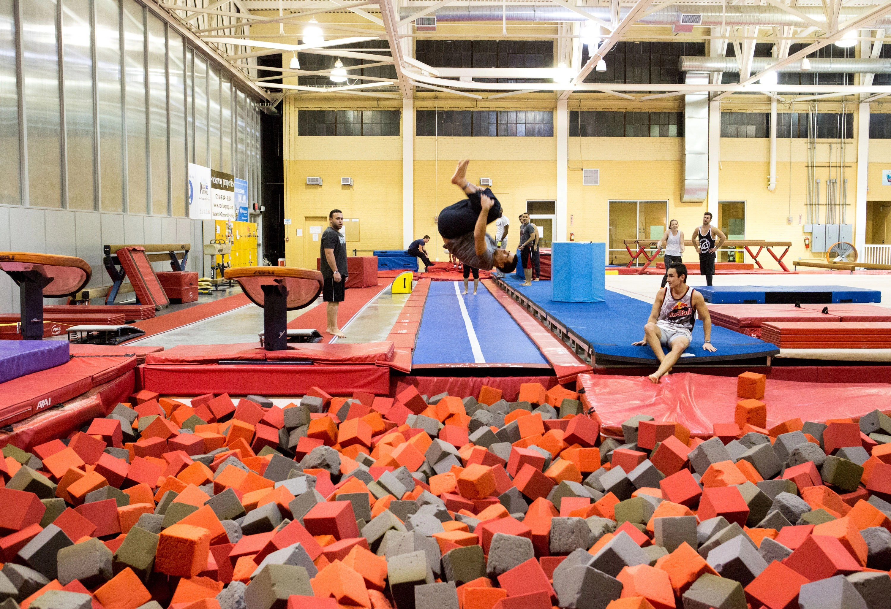 Gymnastics Birthday Parties Brooklyn Aviator Sports