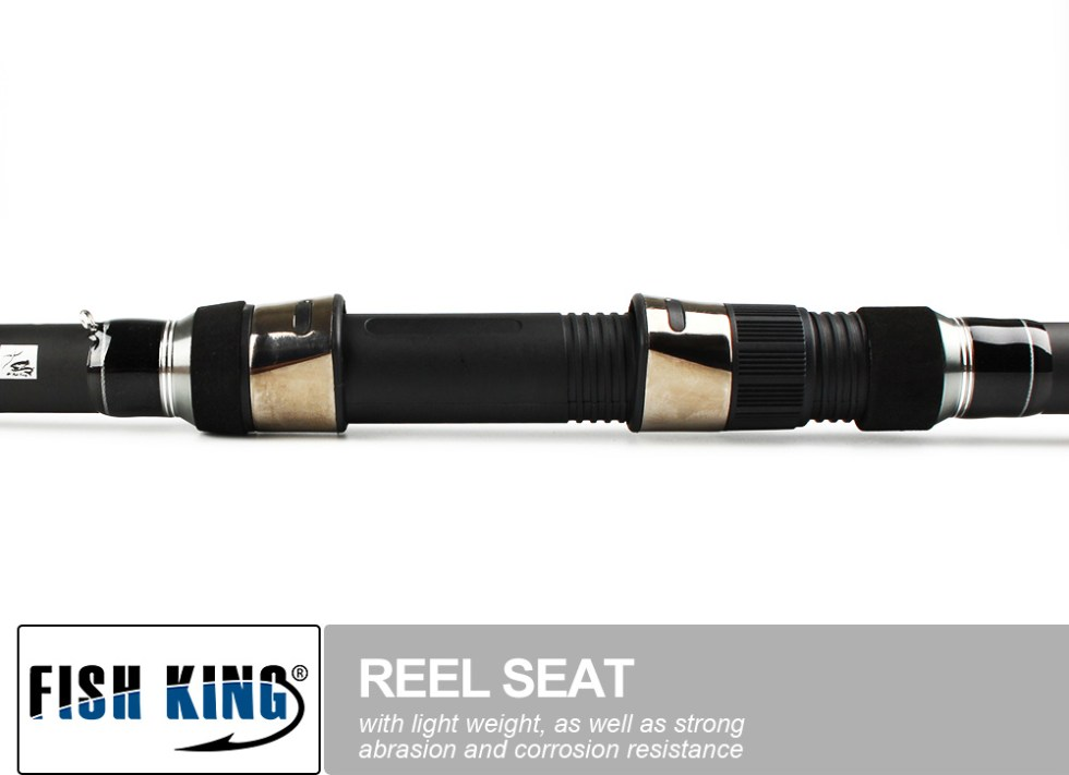 FISH KING Carp Fishing Rod 99% Carbon Standard 3.6m3.9m Contraction length 6 Secs Actual Weight 272G C.W 3.0/3.5LBS PechePesca 19