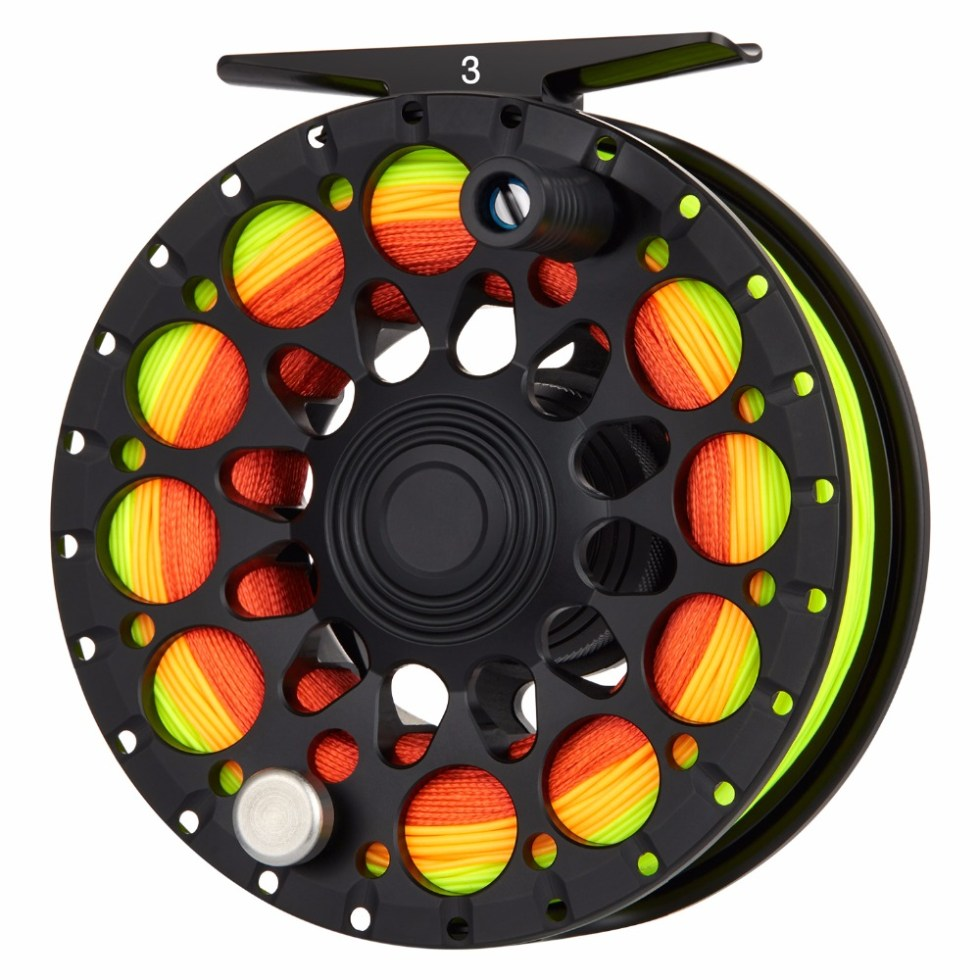 Piscifun Crest Black Fly Reel Fully Sealed Drag CNC Machined Aluminium Alloy Right Left Hand Retrieve Fly Fishing Wheel 11