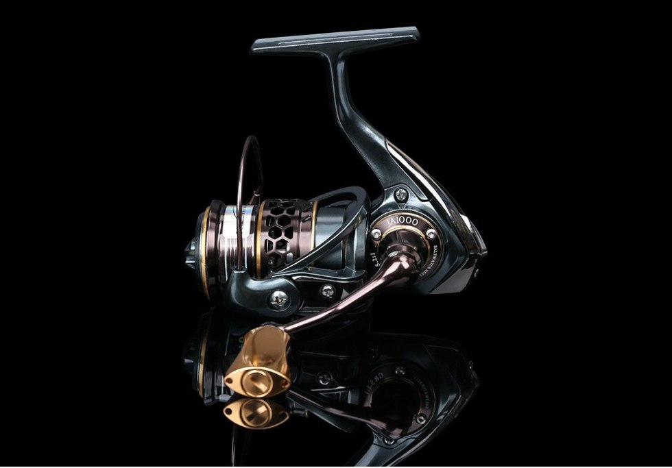 TSURINOYA Jaguar Series 1000 2000 3000 Double Spool Stainless Steel Bearing Ultra-light Lure Spinning Reel Rocky Fishing Reel 24