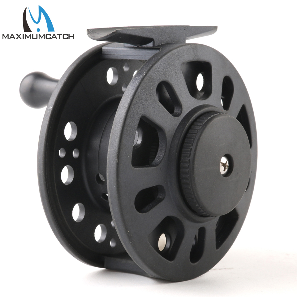 Maximumcatch 1-8WT Plastic Fly Fishing Reel Right Or Left Can Be Changed Plastic Fly Reel 5