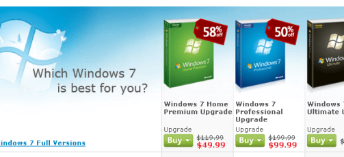 Windows 7 pre-order