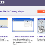 Backup your Files/Folders and computer online with Carbonite 1