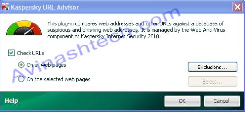 Kaspersky URL Advisor