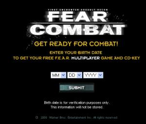 Fear Combar free