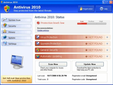 List of TOP 10+ Bogus & Rough Antiviruses you should stay away  7