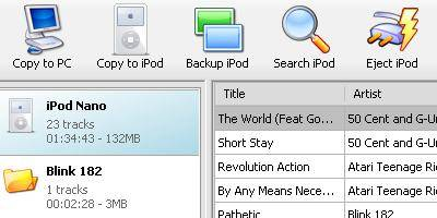 Backup, Restore, copy music & videos to and from IPod 1