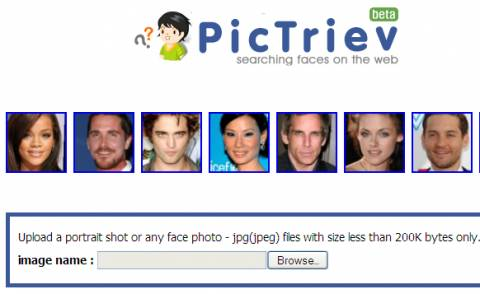 Face search engine