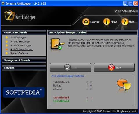 Grab Zemana Antilogger 1 year License for FREE worth $34 1