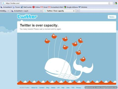 Twitter over Capacity again: What it means? 2