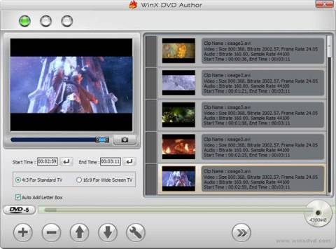 [Giveaway]: 100 Licenses of WinX DVD Author- DVD creation software 2