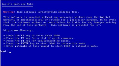 How to securely erase, wipe your Hard Disk 2