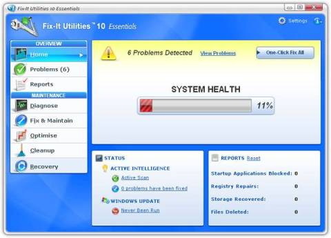 Download Avanquest Fix-It Utilities 10 Essentials (August 20, 2010) [48-hours only]  1