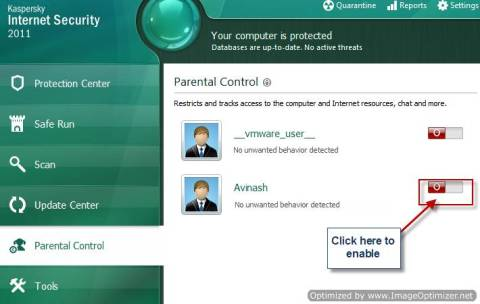 How to configure and use Kaspersky Parental Control 1