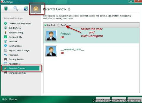 How to configure and use Kaspersky Parental Control 2