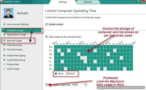 How to configure and use Kaspersky Parental Control 4