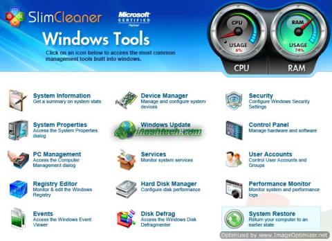 SlimCleaner: Excellent tool to clean and optimize Windows  9