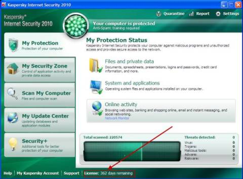 Grab free Kaspersky Internet Security license key for 1 year 5